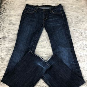 Citizens of Humanity low waist bootcut 27